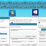 Cara Membuat Restore Point Dengan Mudah