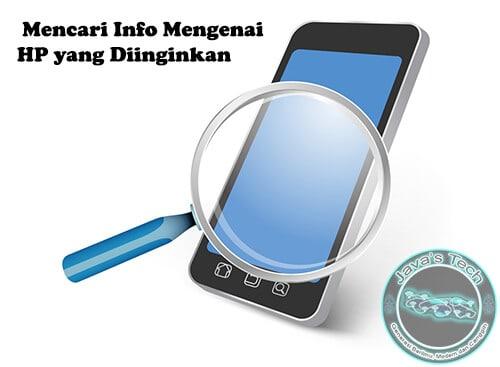 Cari Informasi Mengenai HP