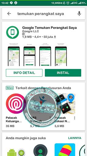 Download Aplikasi Temukan Perangkat Saya