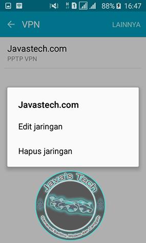 Hapus VPN
