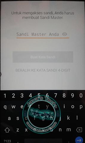 Membuat Master PasswordMembuat Master Password