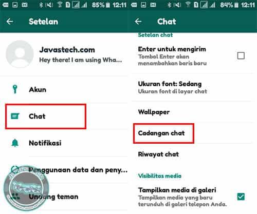 Cadangan Chat