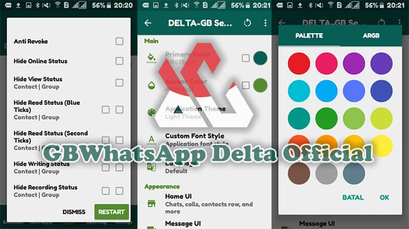 Download GBWhatsApp Delta Official V1 2 0 (Extended Version