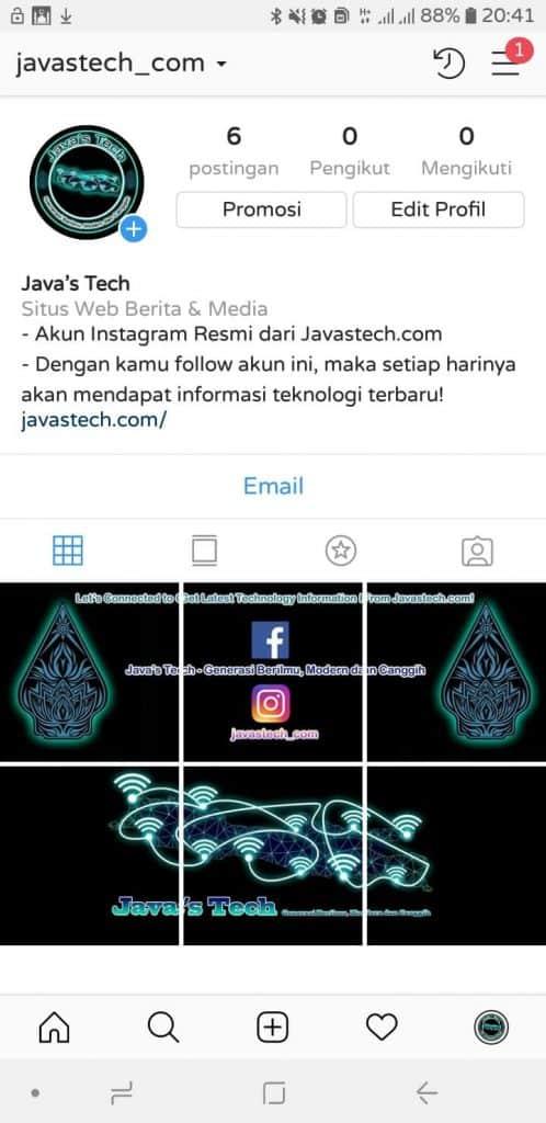 Cara Membuat Instagram Grid Agar Linimasa Foto di Akun ...