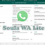 Ulasan Soula WhatsApp Lite