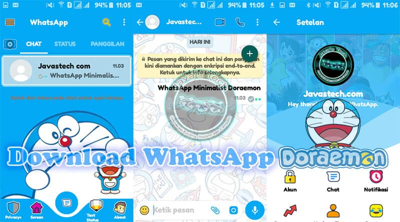 Download WhatsApp Doraemon V2 19 17 Terbaru September 2019