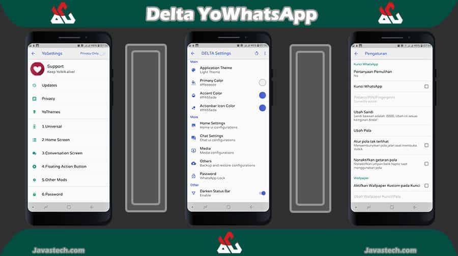 Perpaduan Fitur Delta dengan YoWA Settings