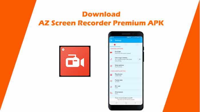 Download AZ Screen Recorder Premium