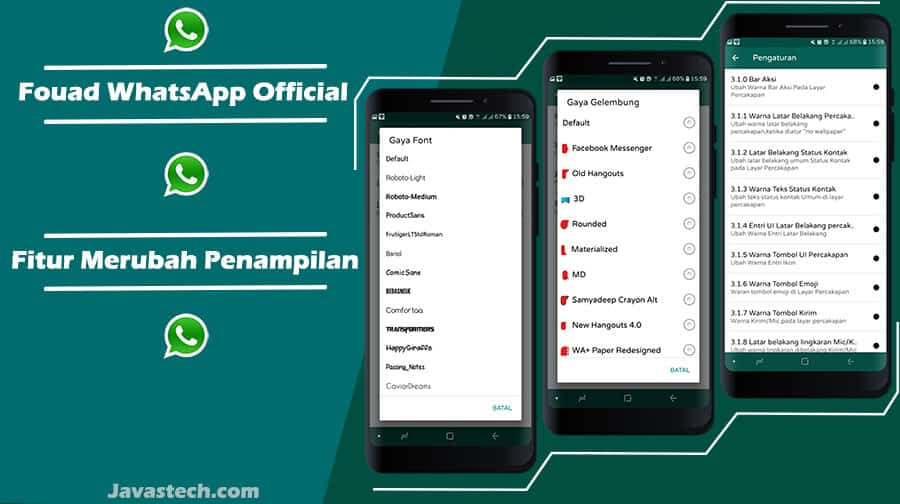 Download Fouad WhatsApp Official (Anti-Banned) V8.45 ...