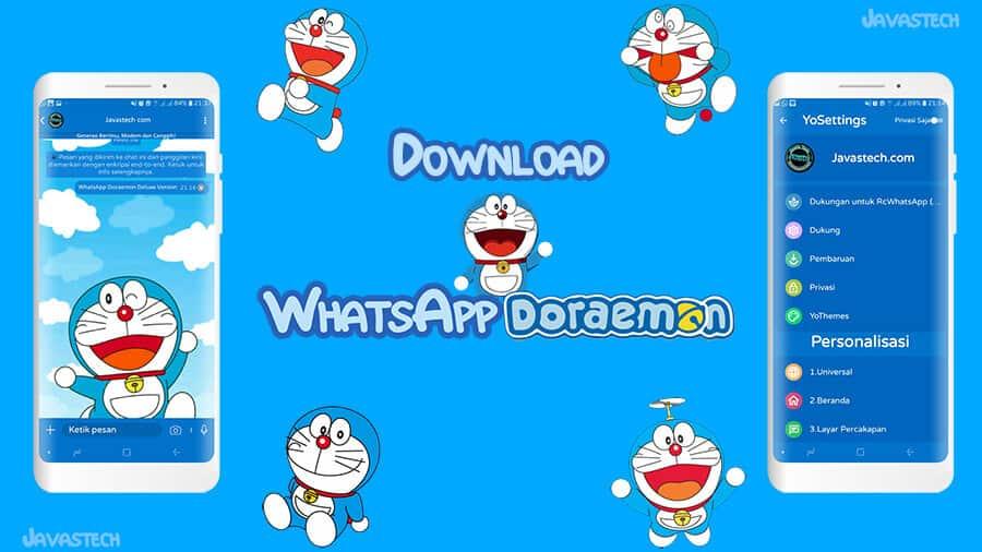 Download WhatsApp Doraemon Deluxe Edition
