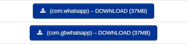 Tipe Paket WhatsApp MOD
