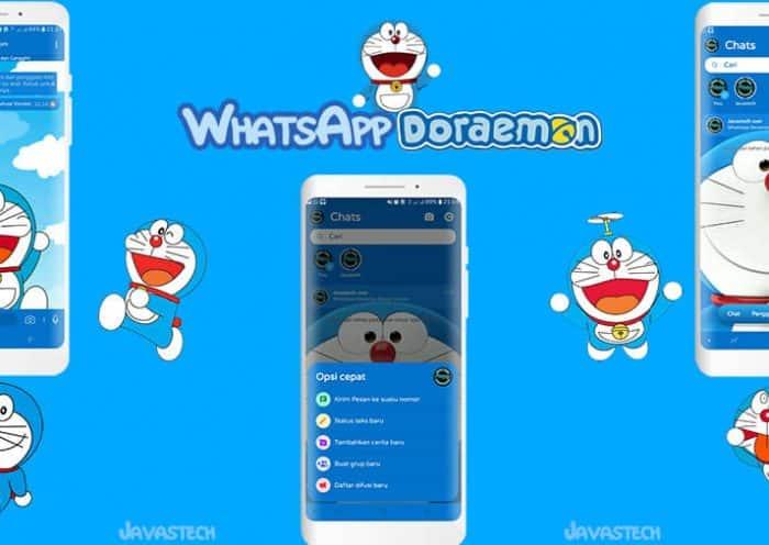 Ulasan WhatsApp Doraemon Deluxe Version