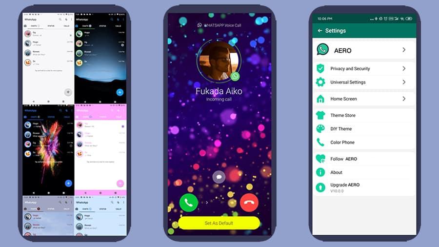 Aero WhatsApp
