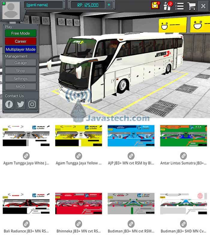 Livery Jetbus 3+ SHD MN Cvt by WSP