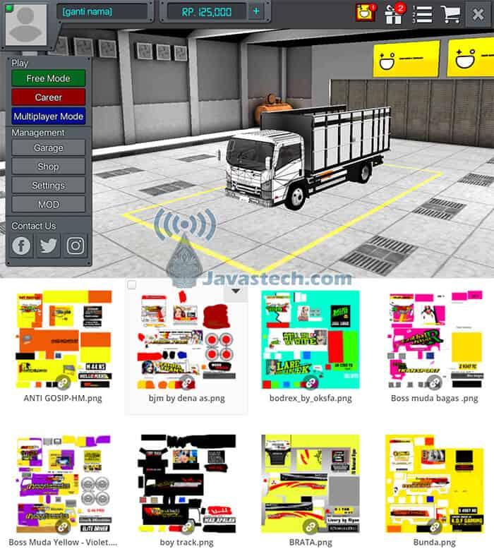 Download Livery Dan Template Bussid Bus Mobil Dan Truk Terbaru Link Mediafire