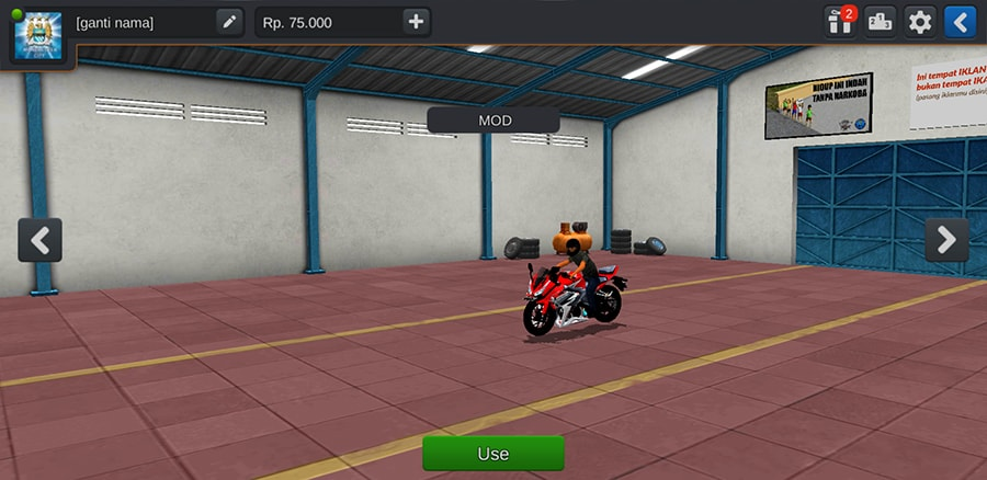 Motor CBR 150R Knalpot Racing by Azumods