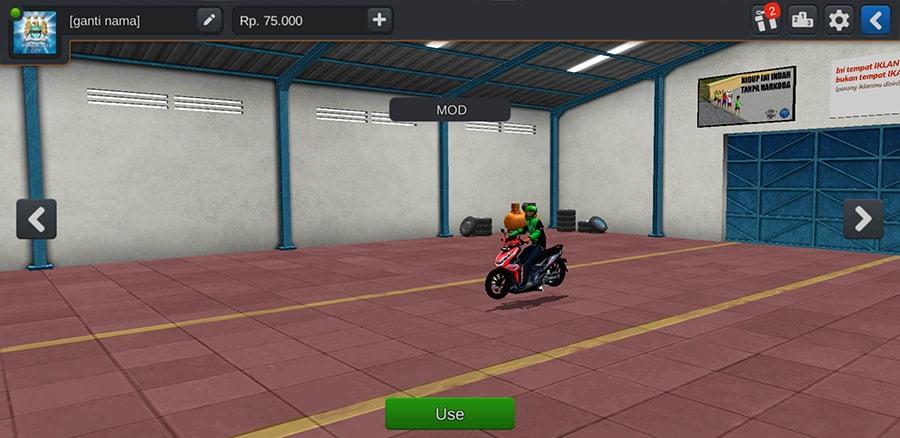 Motor Honda Beat Gojek by Azumods