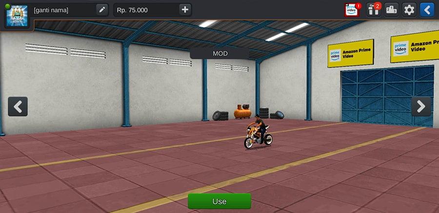 Motor KTM Duke