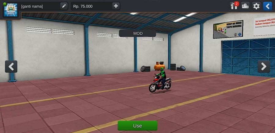 Motor Supra X 125 Gojek by Azumods
