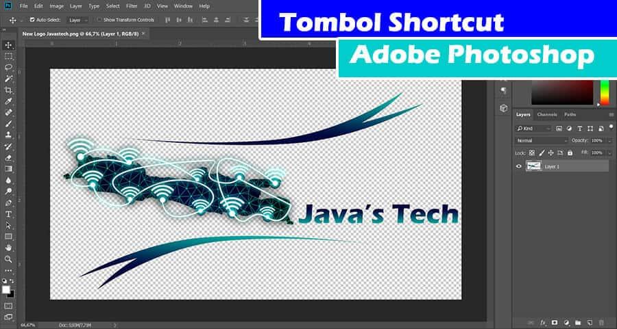 Tombol Shortcut Adobe Photoshop