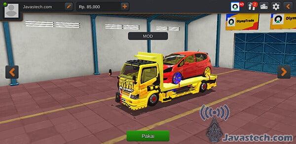 Truck Canter Muatan Honda Jazz