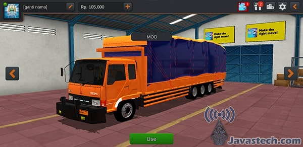 Truck Fuso Tribal Tronton Triple Axle