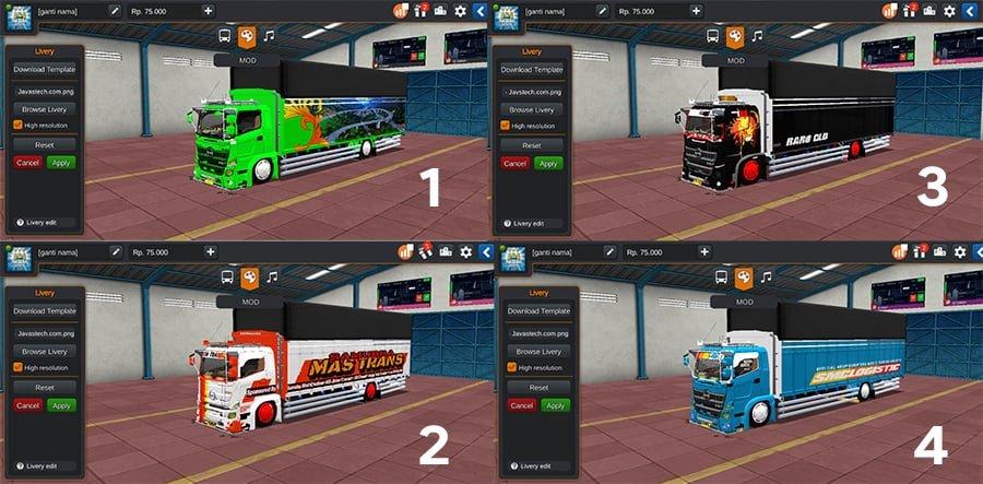 Truck Hino C1 Sumatra by SMC