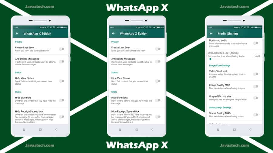 Ulasan WhatsApp X