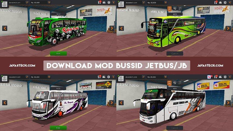 Download MOD BUSSID Jetbus JB