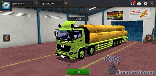 Truck Hino Muatan Besi Beton