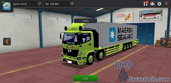 Truck Hino Muatan Box Kontainer