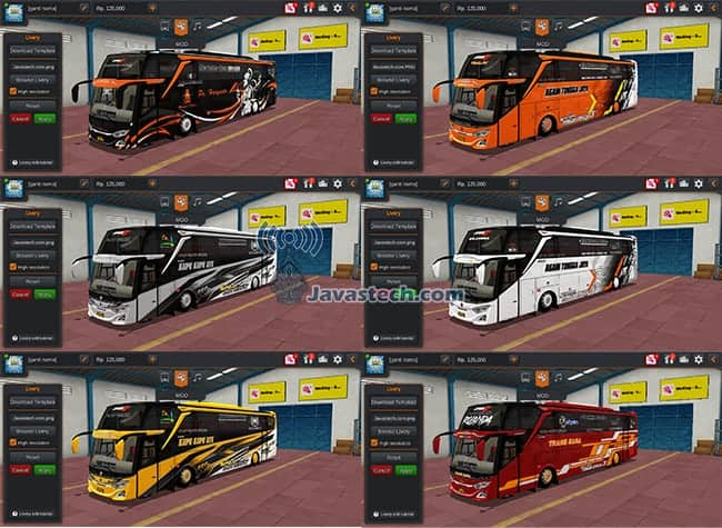 JB3+ SHD Scania Facelif RSMt