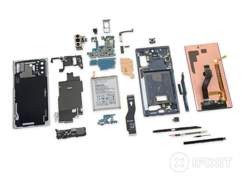 Komponen Samsung Galaxy Note 10+