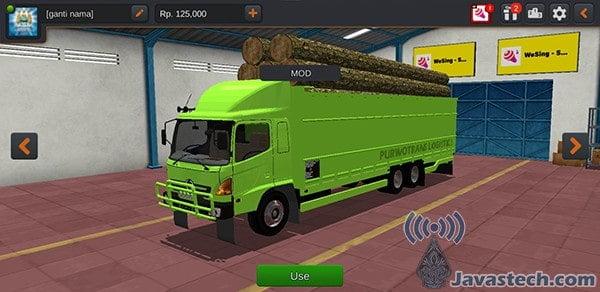 Truck Hino Lohan Purwo Muat Kayu