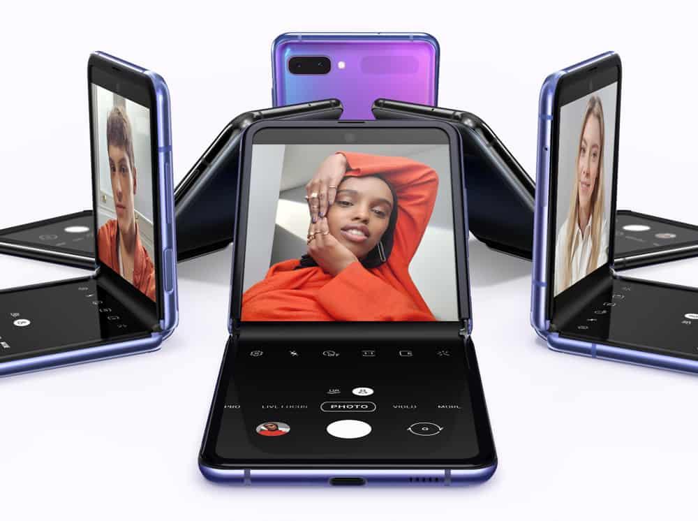 Kamera Galaxy Z Flip