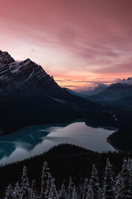 Lake With Mountain