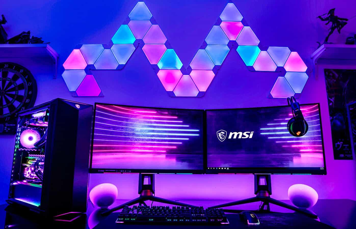 Pencahayaan RGB Gaming