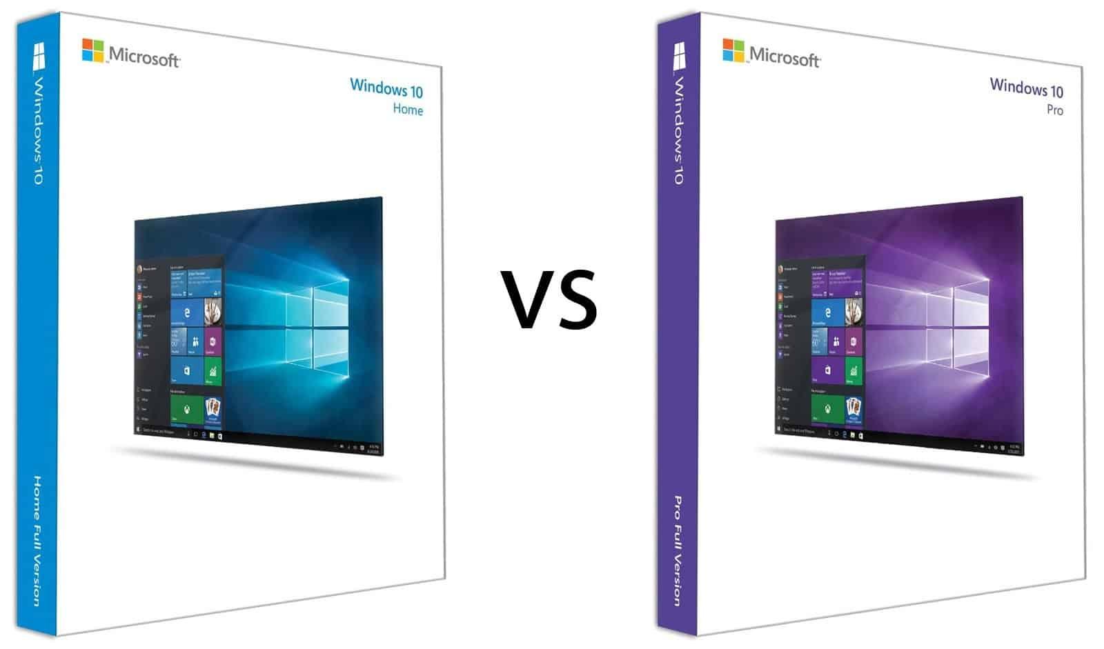 Perbedaan Windows 10 Home dengan Pro