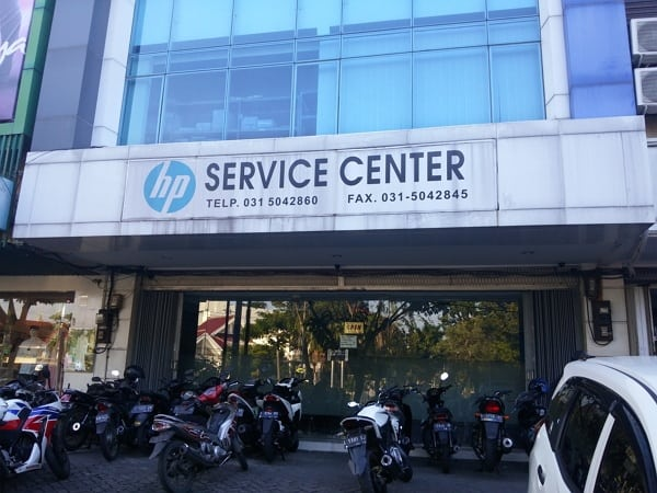 Service Center Laptop HP