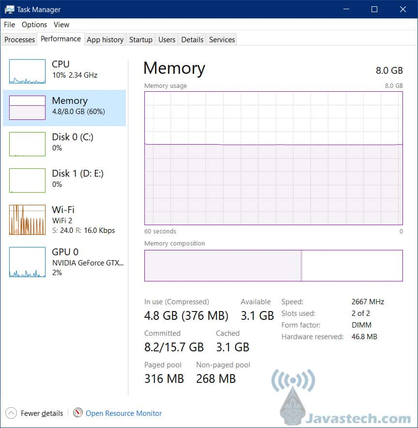 Kecepatan RAM