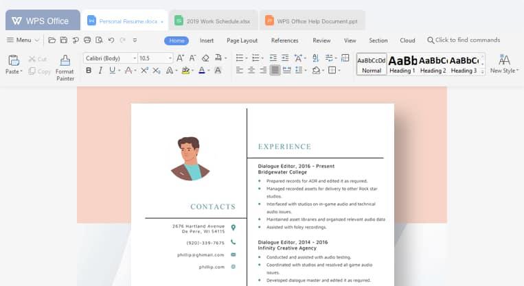 WPS Office Writer