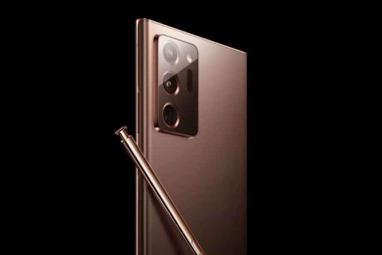 Galaxy Note 20 Tampilan