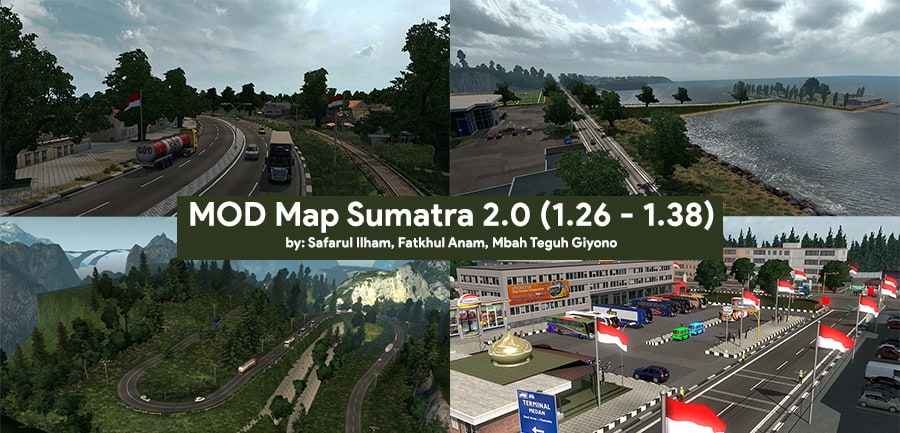 MOD Map Sumatra 2.0 up to 1.26 - 1.38