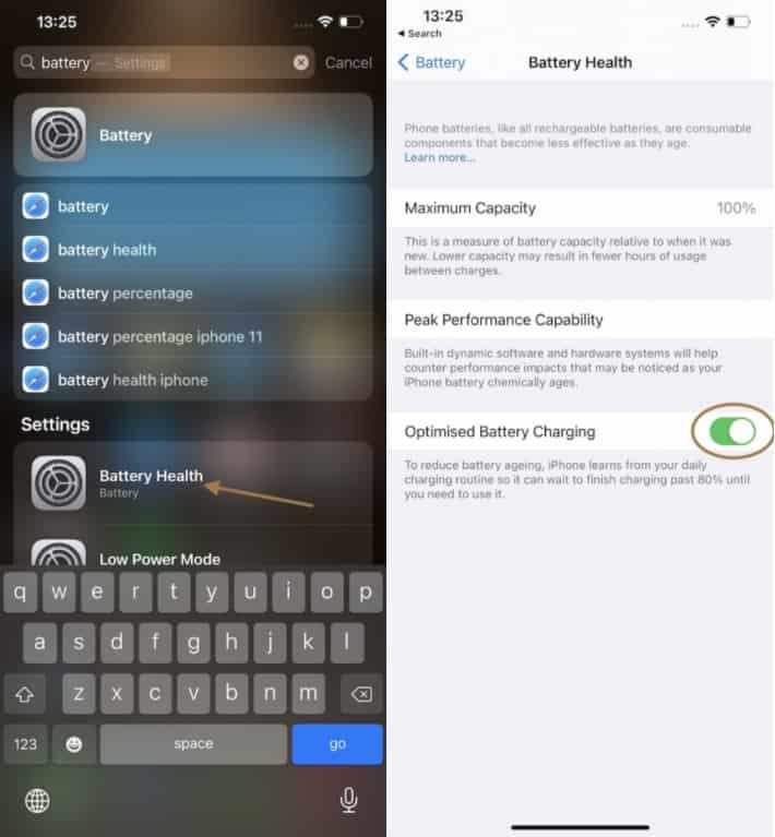 Optimasi Pengisian Daya Baterai iPhone 12