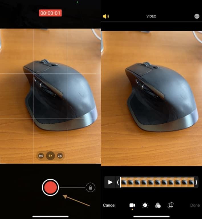 Rekam Video Cepat iPhone 12