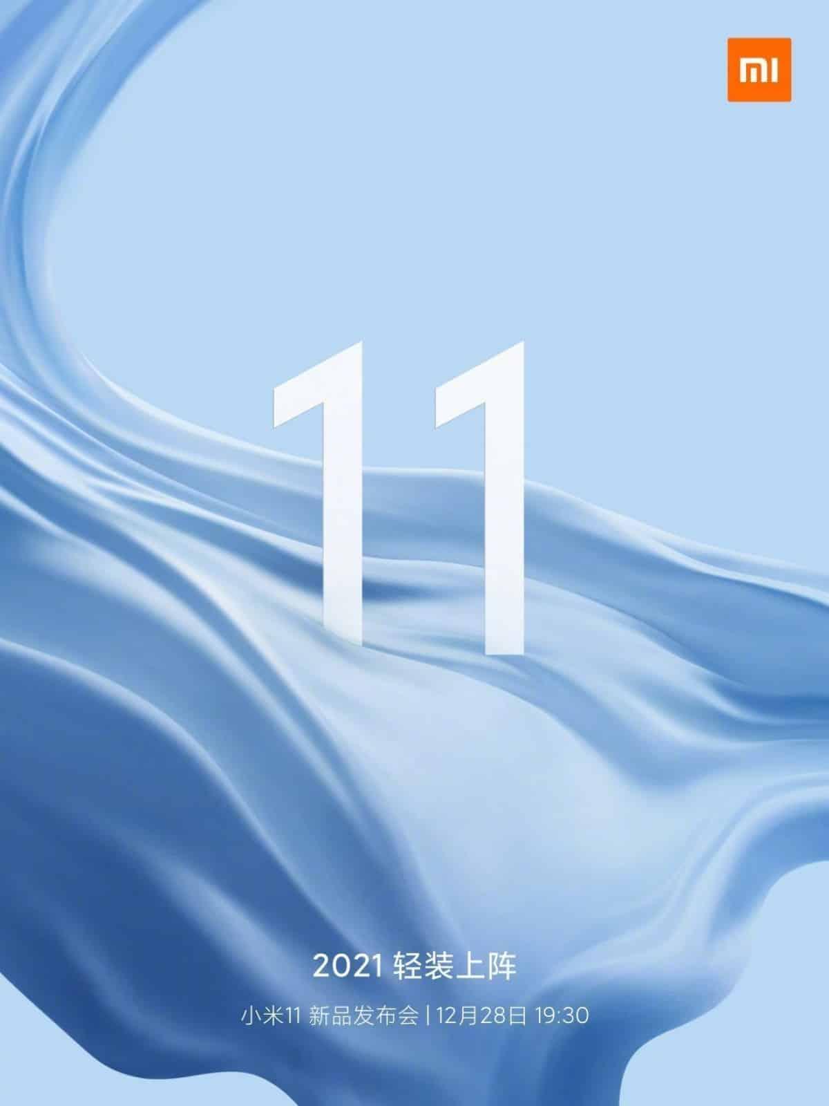 Xiaomi Mi 11 Official Teaser