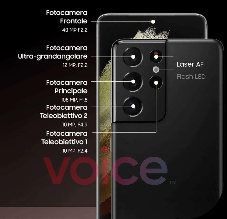 Bocoran Spesifikasi Kamera Galaxy S21 Ultra