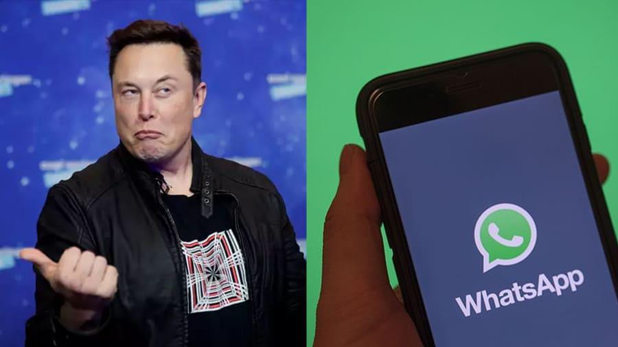 Elon Musk dan WhatsApp