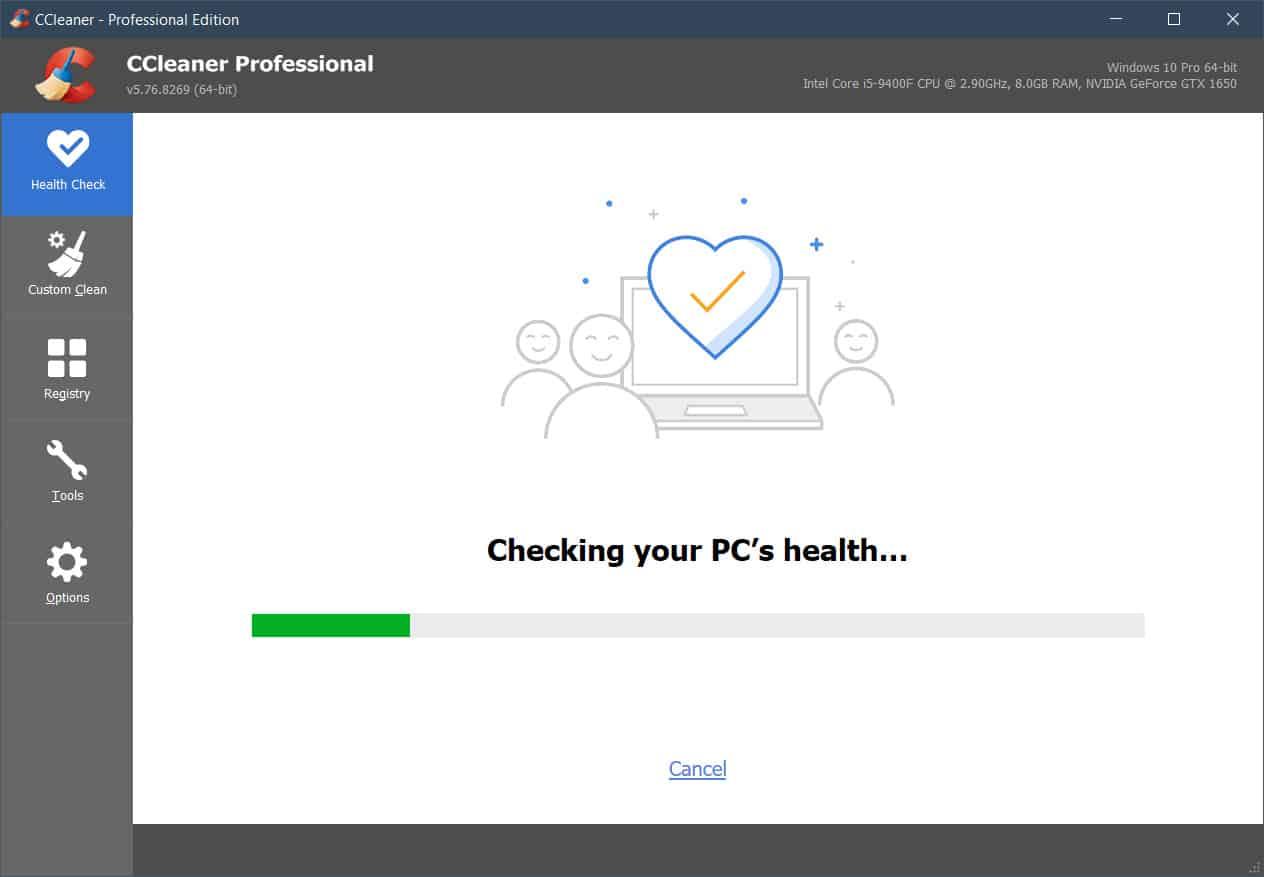 Cek Kesehatan PC CCleaner Pro v5.76