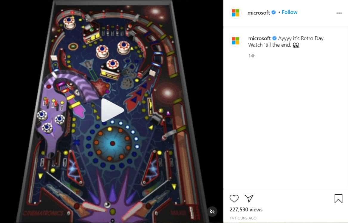 Kolom Komentar Instagram Microsoft di Tutup
